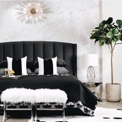 Daniel Stuart Studios Bed and Pillows