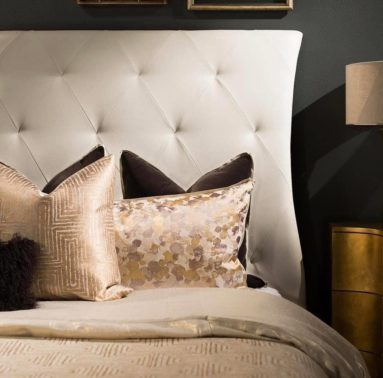 Daniel Stuart Studios Bed and Pillows