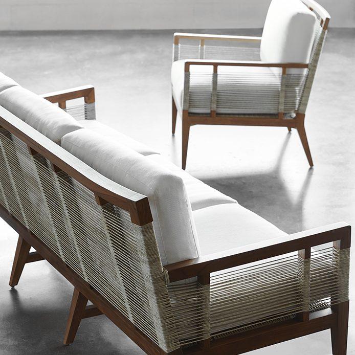 Palecek Sofa and Chair